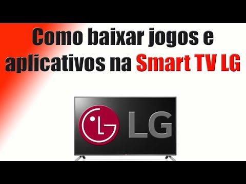 Como baixar jogos e aplicativos na Smart TV LG