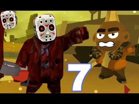 Friday the 13th: Killer Puzzle - Gameplay Walkthrough Part 7 - WASTELAND (iOS, Android)
