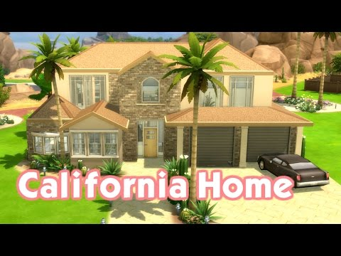 The Sims 4: Speed Build - California Inspired Home