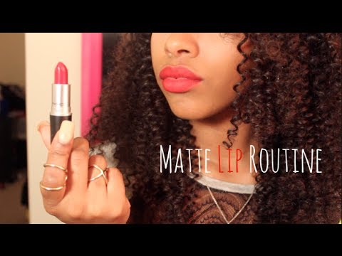 Matte Lip Routine | How to Apply Matte Lipstick