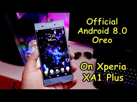 Android Oreo on Sony Xperia XA1 Plus (new features, ui and changes)