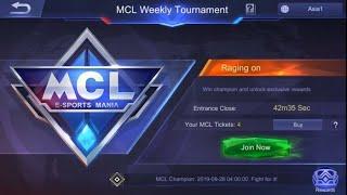 MCL gmpley Mobile legends