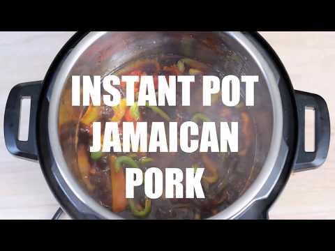 Instant Pot BBQ Pork- Jamaican Style