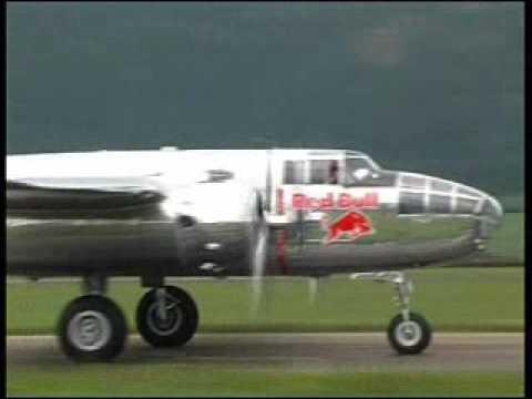 Red Bull B-25 Mitchell Display