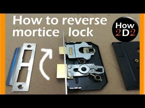 How to reverse bathroom lock    Reversing mortice lock
