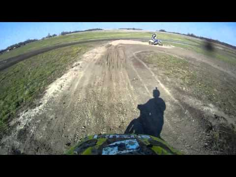 Riding At Triangle Sport Center - Flat Track