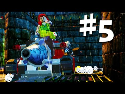 Road To Arkham Knight - Lego Batman 2 Gameplay Walkthrough Part 5 Arkham Asylum Maze
