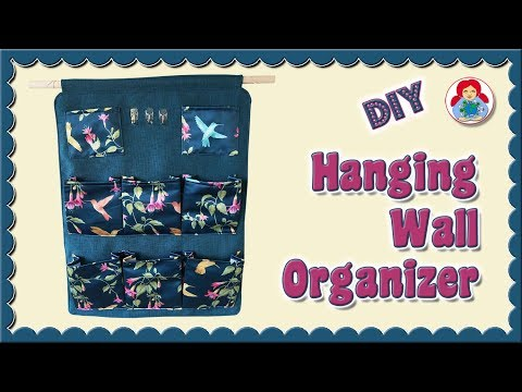 DIY | Hanging Wall Organizer • Sami Dolls Tutorials