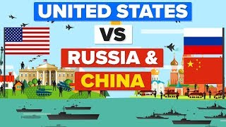 United States (USA) vs Russia and China - Who Would Win? Military / Army Comparison