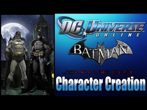 DCUO - Batman AC Character Creation Tutorial