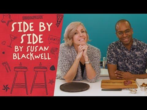 SIDE BY SIDE BY SUSAN BLACKWELL: Daniel Breaker of HAMILTON