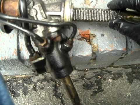 worn out clunking steering rack failure