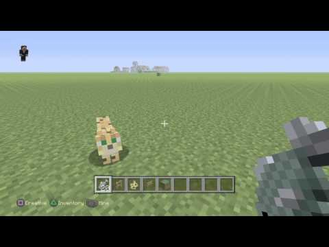 How to tame an ocelot - Minecraft PS4
