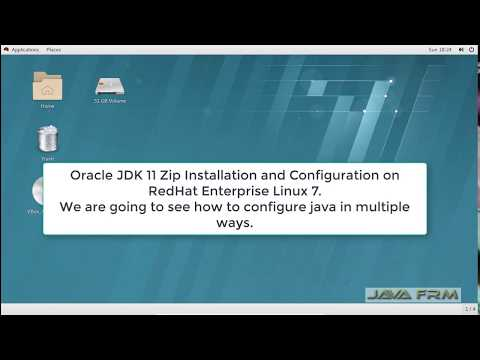 Oracle JDK 11 Zip Installation on Redhat Enterprise Linux 7.5 and enable Java for all users in linux