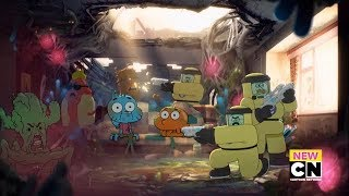 Going to the Future (Clip) - The Vegging | Amazing World of Gumball (Season 6)