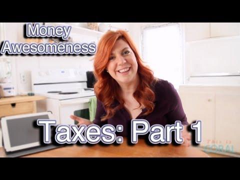 Money Awesomeness: Taxes Pt.1: Tax Brackets