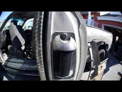 Silverado 2004 extended cab door stuck closed FIX