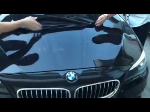 After 2 Years CARLIKE Carbon Fiber Vinyl Remove From BMW
