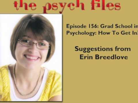 Grad School in Psychology: How Do You Get In?