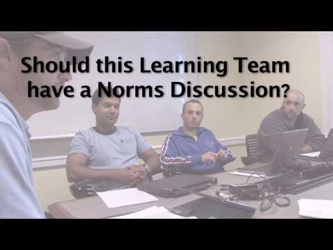 Learning Team Norms Discussion (Part 1)