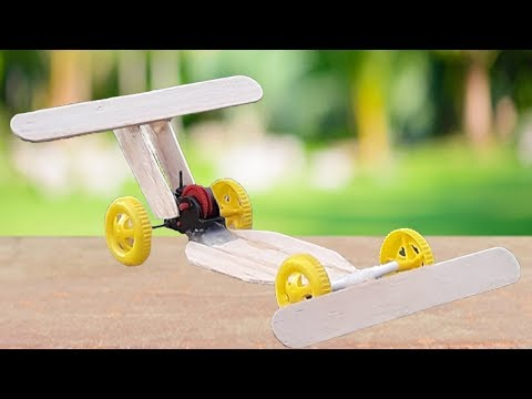 how to make a wooden Racing car - VCreativeKH
