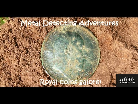 Royal coins galore and more! - Metal Detecting UK #6