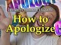 Internet Comment Etiquette How To Apologize Online