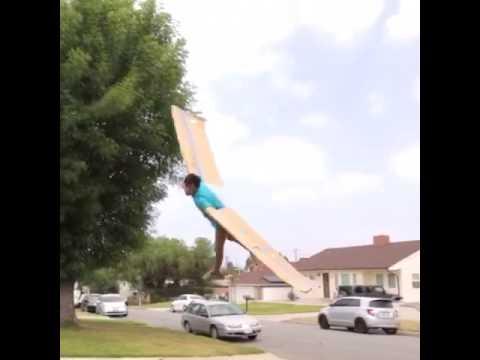 My Cardboard Wings finally worked✈
