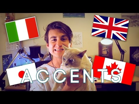13 Accents in the English Language