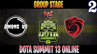 Among Us vs Cignal Ultra Game 2 | Bo2 | Group Stage DOTA Summit 13 | DOTA 2 LIVE