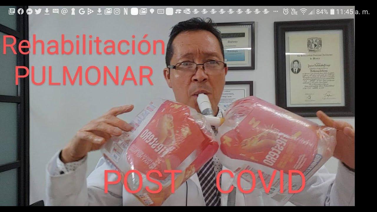 Rehabilitación Pulmonar post Covid