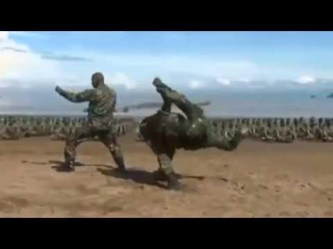 Keren !!! Latihan Yong Mo Do Tentara Indonesia
