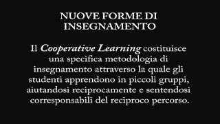 Cooperative Learning: Lezione di Italiano e Storia