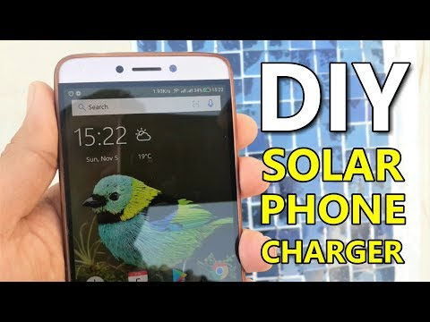 DIY Solar Cellphone Charger - Full Build