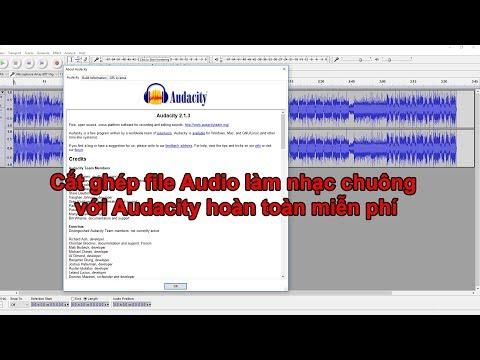 Dinh Studio | Cắt ghép audio làm nhạc chuông với Audacity