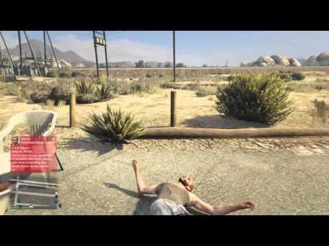 Grand Theft Auto V online random game play pt. 1