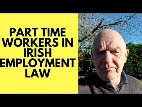 Part Time Workers in Employment Law in Ireland
