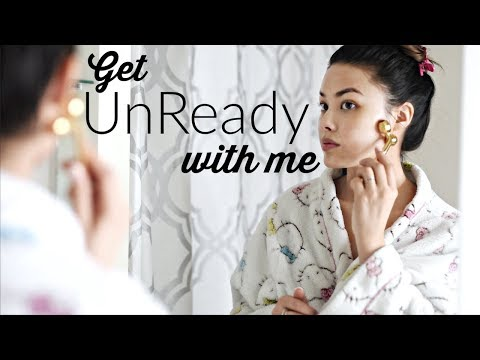 GET UNREADY WITH ME   Skin Care Routine + My Dry Skin Tips for Winter