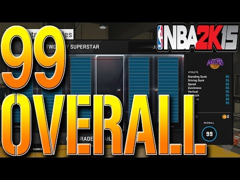 NBA 2K15 Tips: How To Get ALL UPGRADES In MyCareer GLITCH - HOW TO GET 99 OVERALL FAST AND EASY