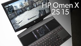HP Omen X 2S 15: Liquid metal and two screens