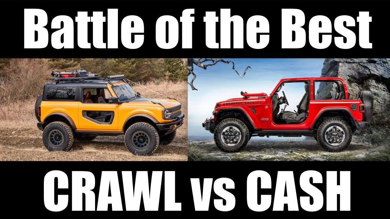 Battle of the Best Off Road -  Bronco vs Wrangler  -  What no one is saying
