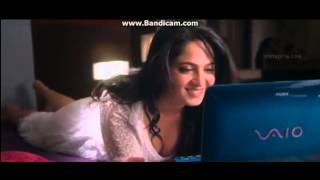Anushka Shetty   Huge Cleavage Boobs Show