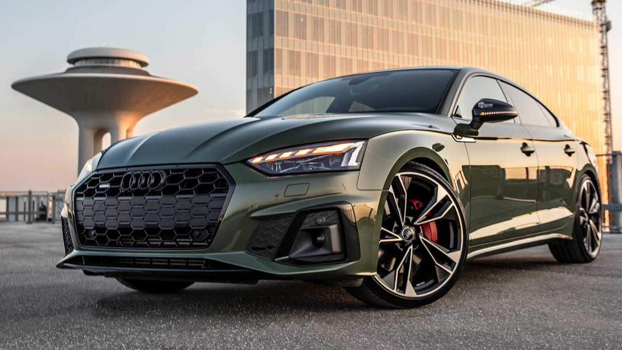 SICK SPEC! NEW 2021 AUDI A5 SPORTBACK - BEST LOOKING A5 EVER RS5-Looks! 45TFSI, district green etc
