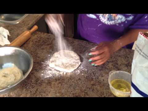 How to make roti ...