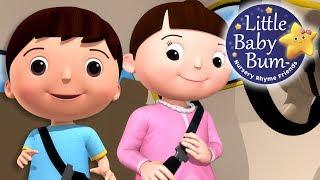 Seat Belt Song   Car Safety   Nursery Rhymes   Original Songs By LittleBabyBum!