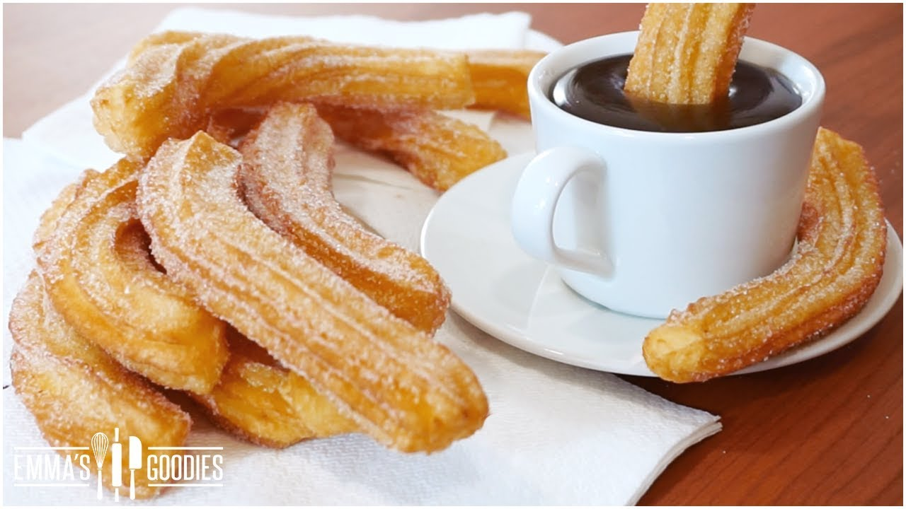 Homemade Churros Recipe 2 ways - With & Without Piping Bag