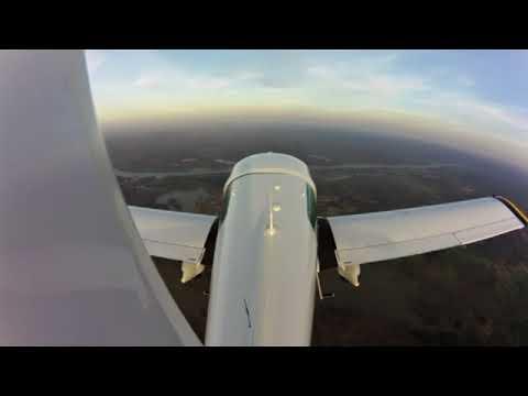 Crosswind Landing. Winds: 9 - 18 Gusts 23. 13k Xwind Component
