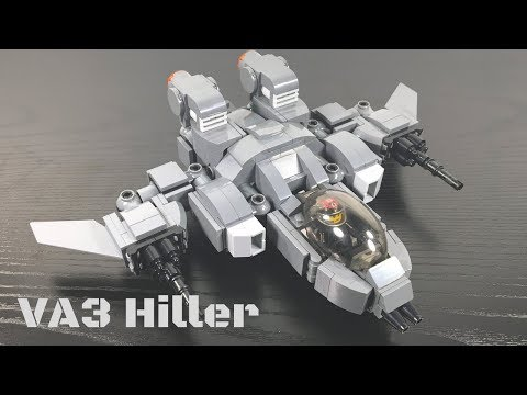 Lego Transformers by M1NDxBEND3R - VA3 Hiller Strike Fighter