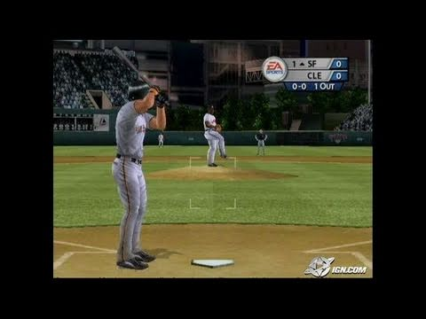 MVP Baseball 2005 GameCube Gameplay - Can't catch me!