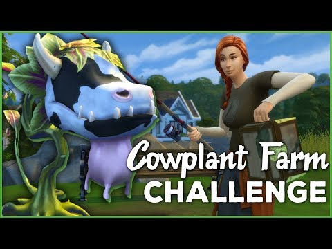 A Life-Changing Lucky Catch!! 🐄🌱 Sims 4 Cowplant Farm: Episode #16